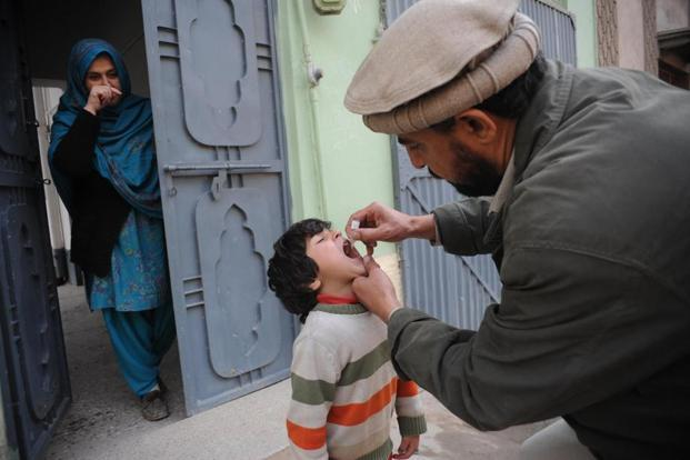 Besides Afghanistan and Pakistan, Nigeria is the only other country in the world where polio, a disease that paralyses children, is still endemic. Photo: AFP